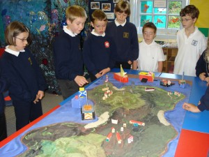 Our island model